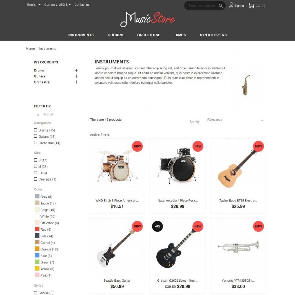 theme - Kultura & Sztuka - MusicStore - 5