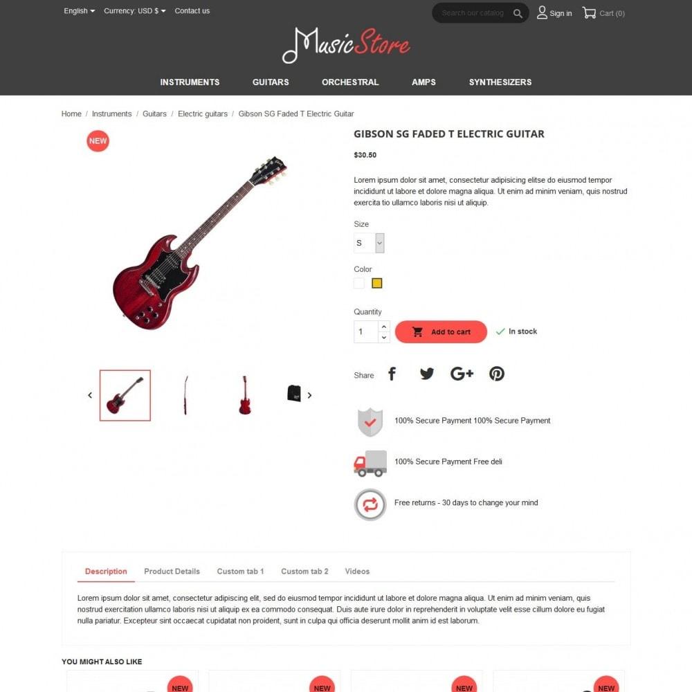 theme - Kultura & Sztuka - MusicStore - 6