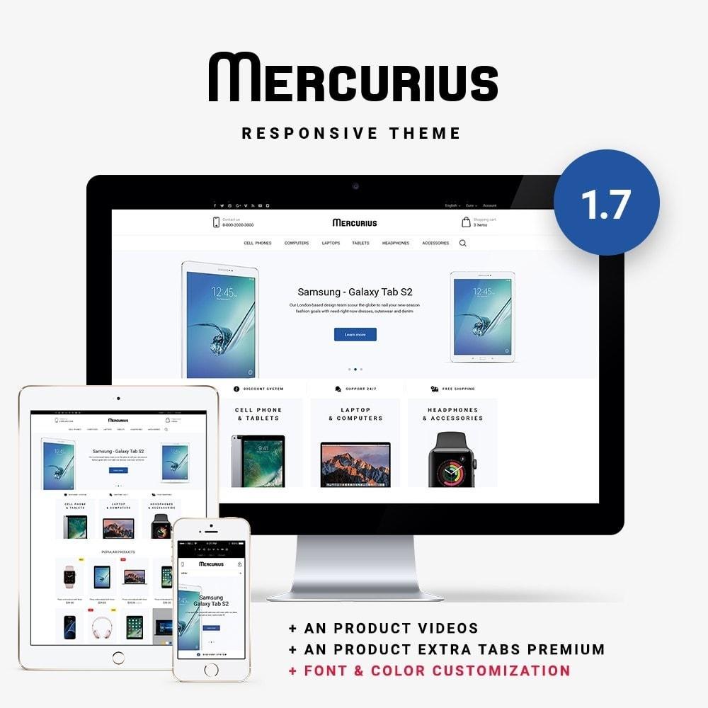 theme - Elektronika & High Tech - Mercurius - High-tech Shop - 1