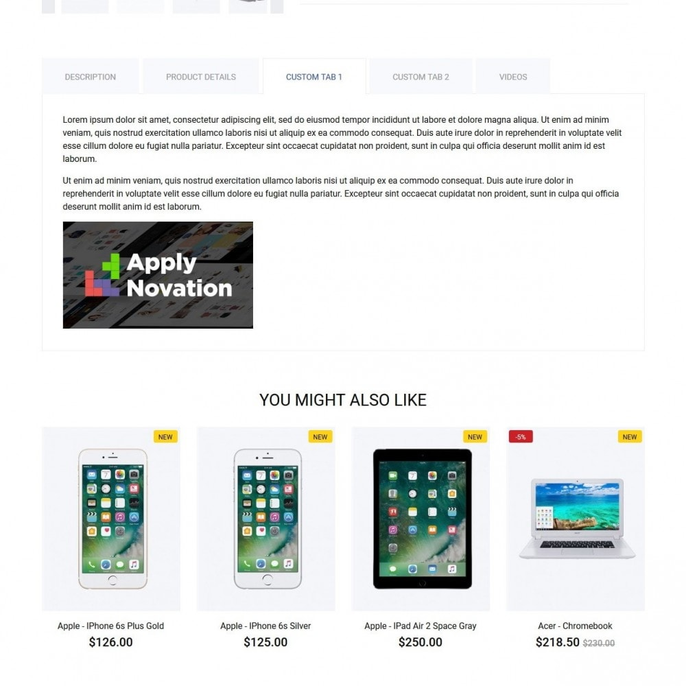 theme - Elektronika & High Tech - Mercurius - High-tech Shop - 9