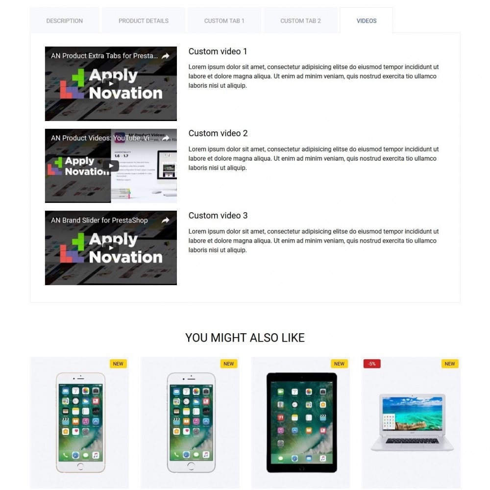 theme - Elektronika & High Tech - Mercurius - High-tech Shop - 10