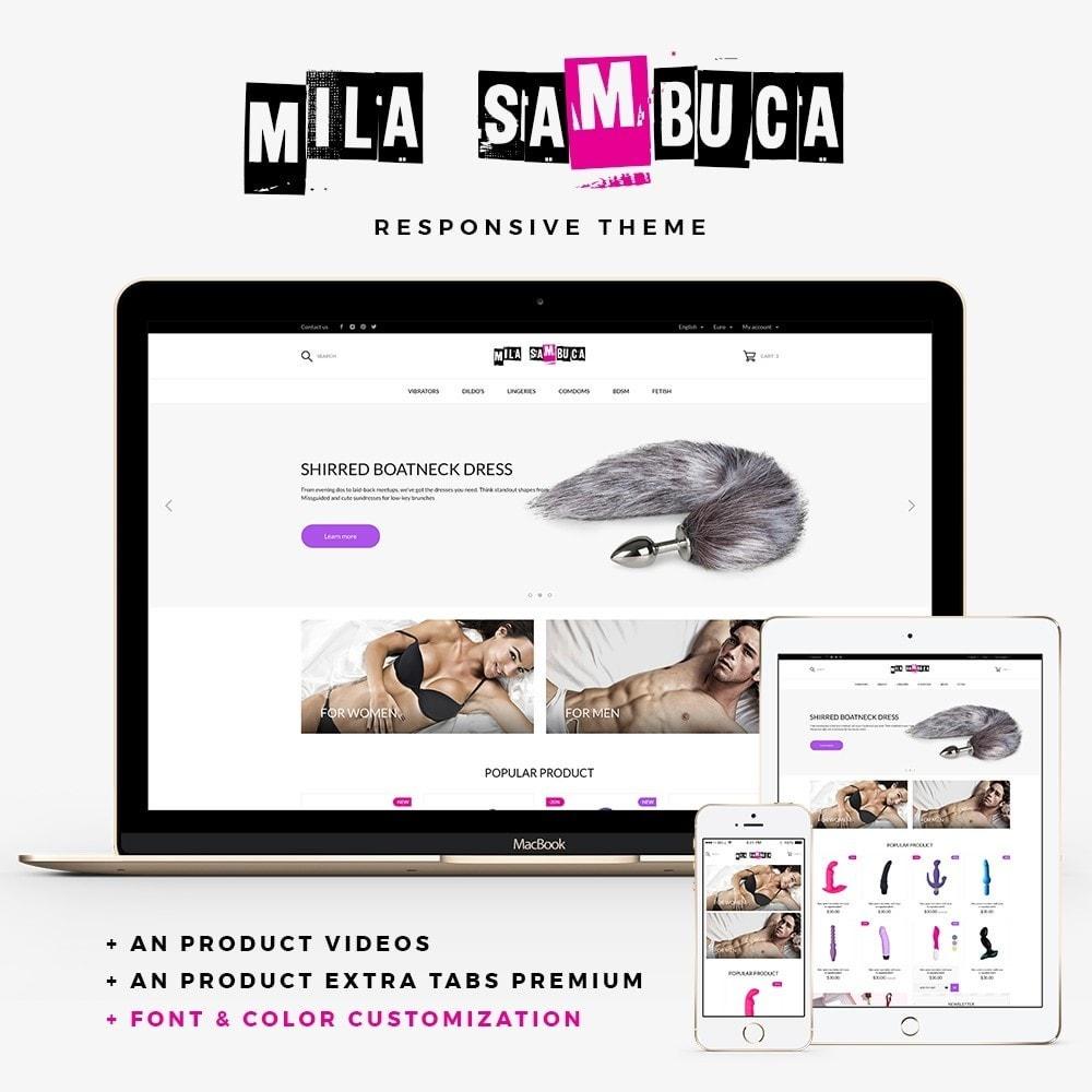theme - Lingerie & Adultos - Mila Sambuca - 1