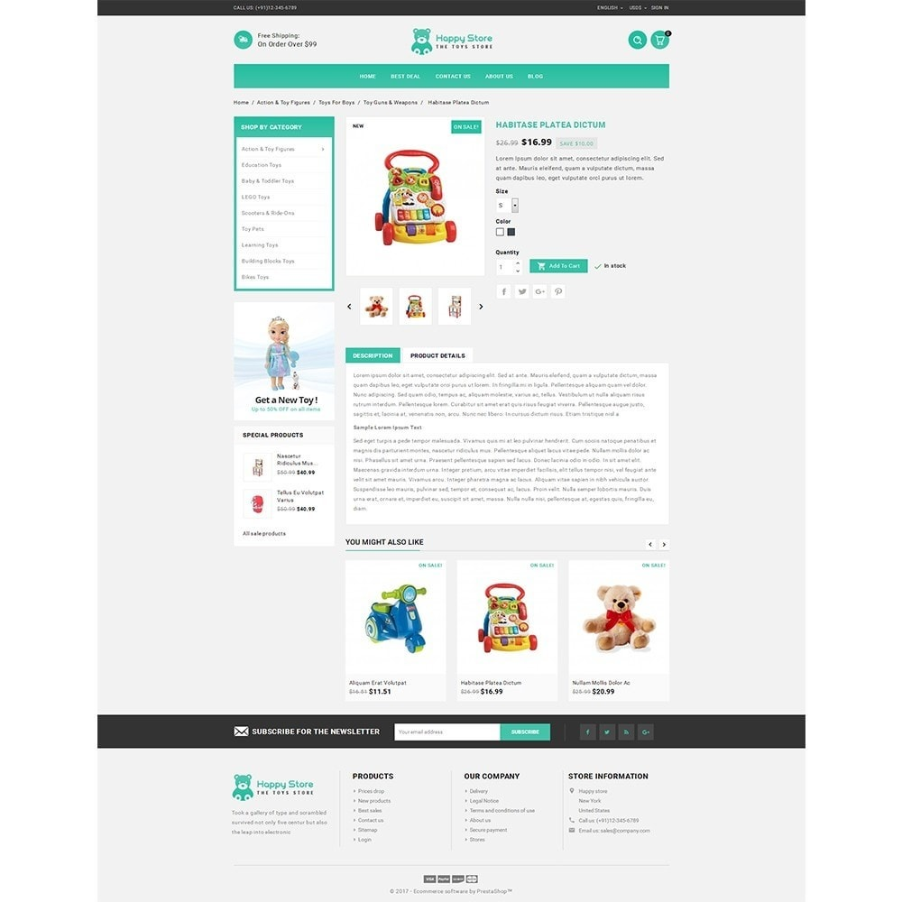 theme - Kids & Toys - Happy store - 5
