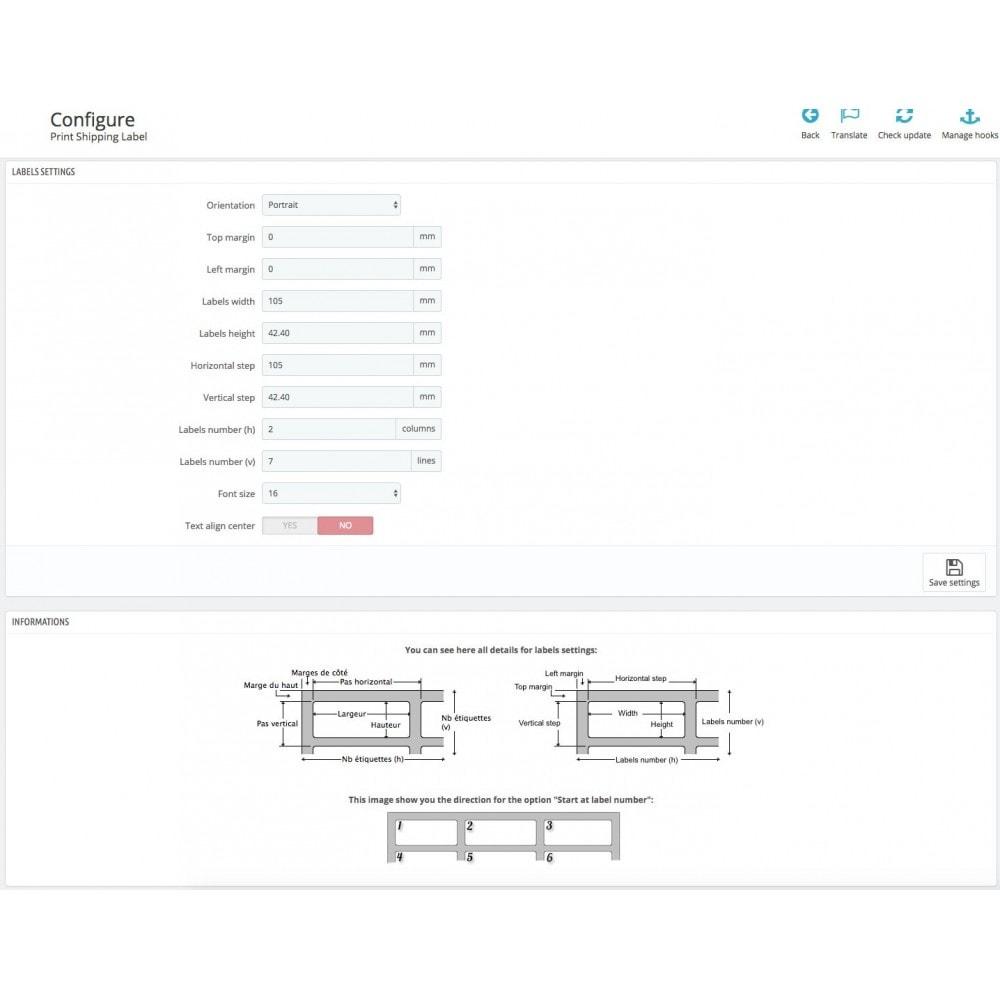 module - Preparación y Envíos - Automatic print shipping labels + Status update - 3