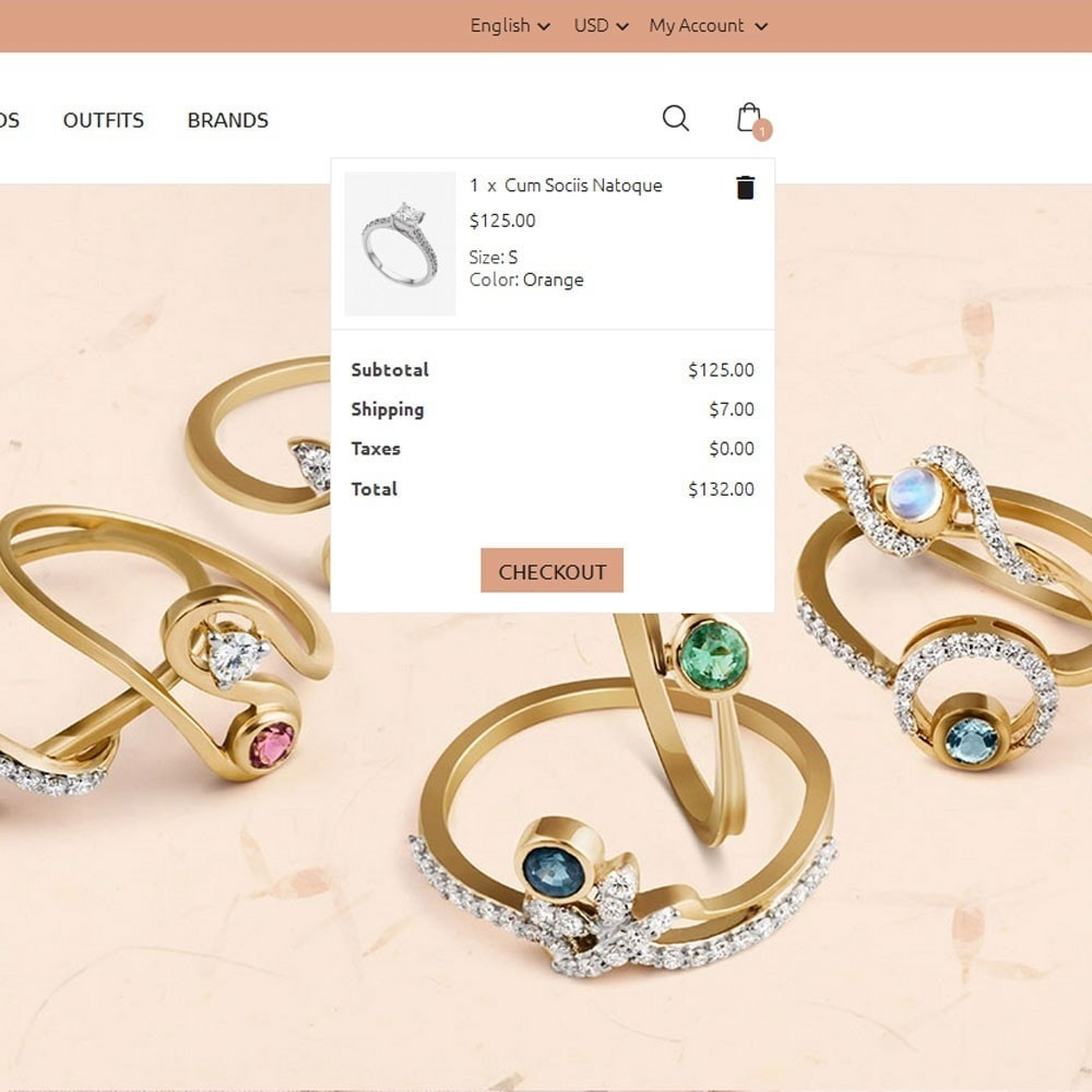 theme - Jewelry & Accessories - Golden Jewellery Store - 6