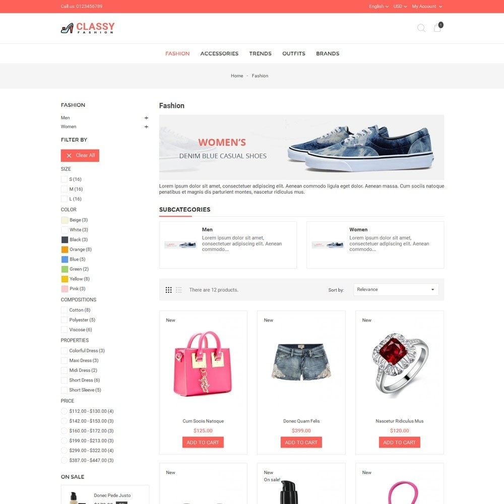 theme - Mode & Schuhe - Classy Fashion Store - 3
