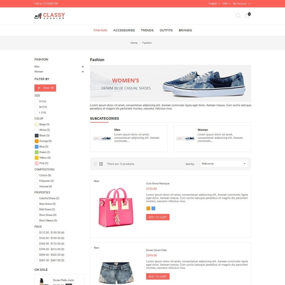theme - Mode & Schuhe - Classy Fashion Store - 4