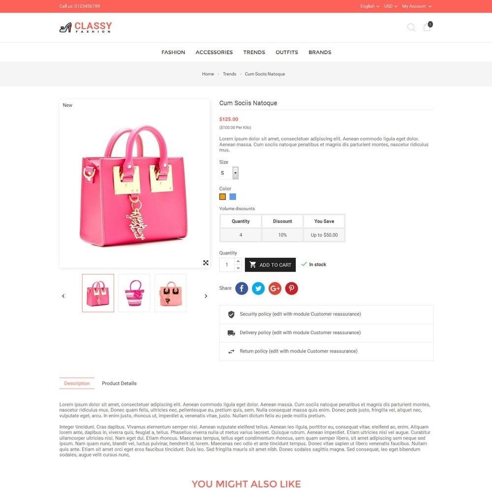 theme - Moda & Obuwie - Classy Fashion Store - 5
