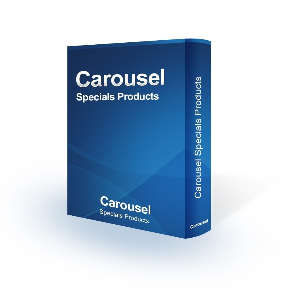 module - Sliders & Galeries - Carousel Specials Products - 1