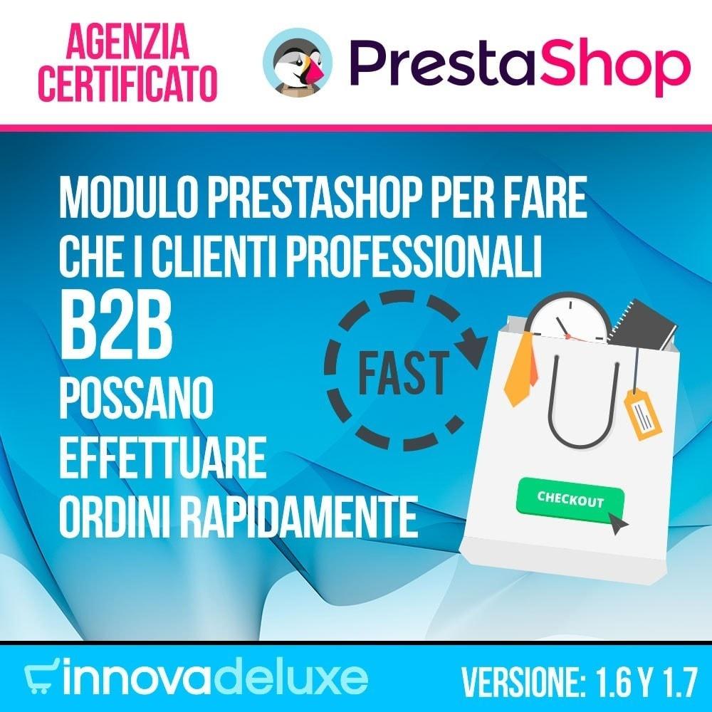 module - B2B - Creatore di Ordini Express per i clienti business - 1