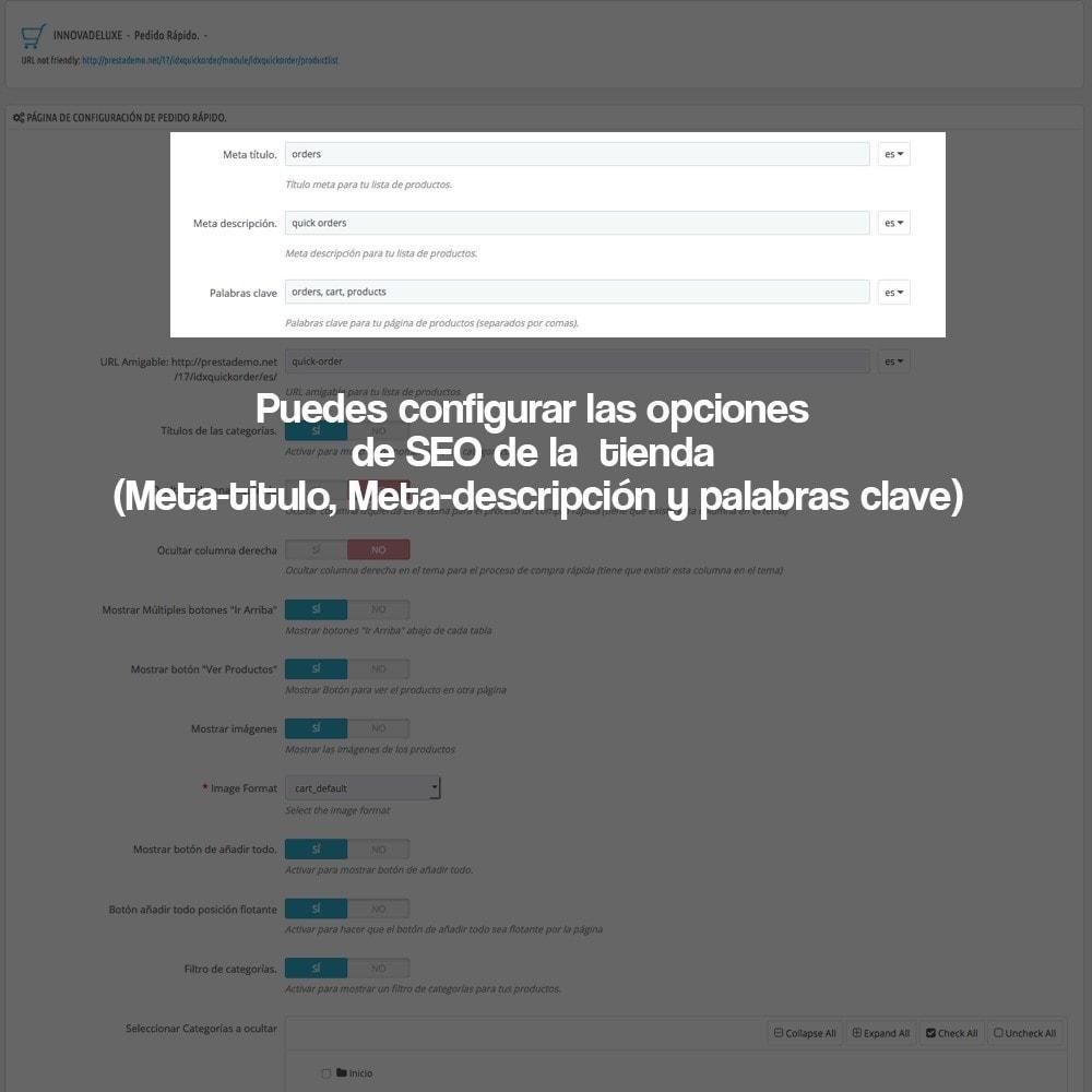 module - B2B - Creador de pedidos rápidos para clientes profesionales - 3