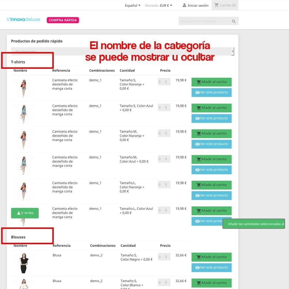module - B2B - Creador de pedidos rápidos para clientes profesionales - 6