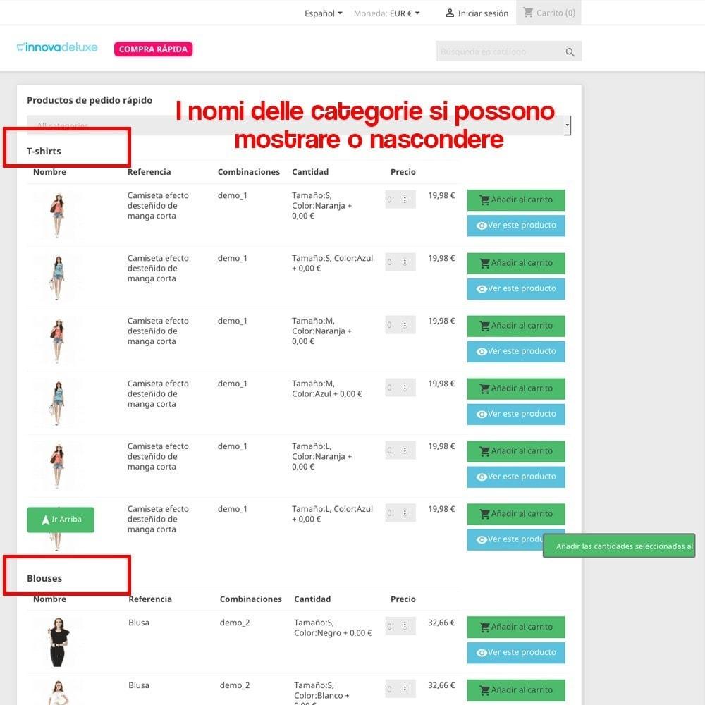 module - B2B - Creatore di Ordini Express per i clienti business - 6