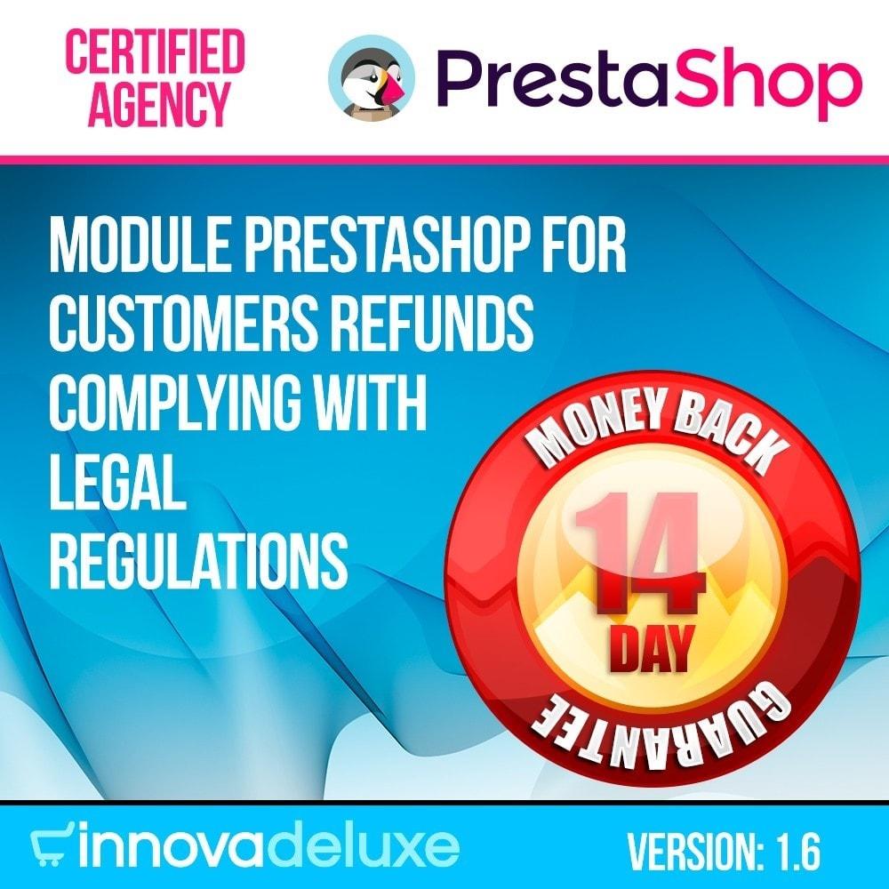 module - Администрация - Product refunds (Consumer defense law) - 1