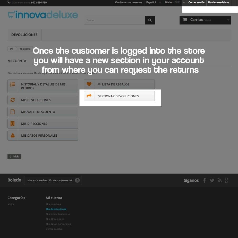 module - Администрация - Product refunds (Consumer defense law) - 10