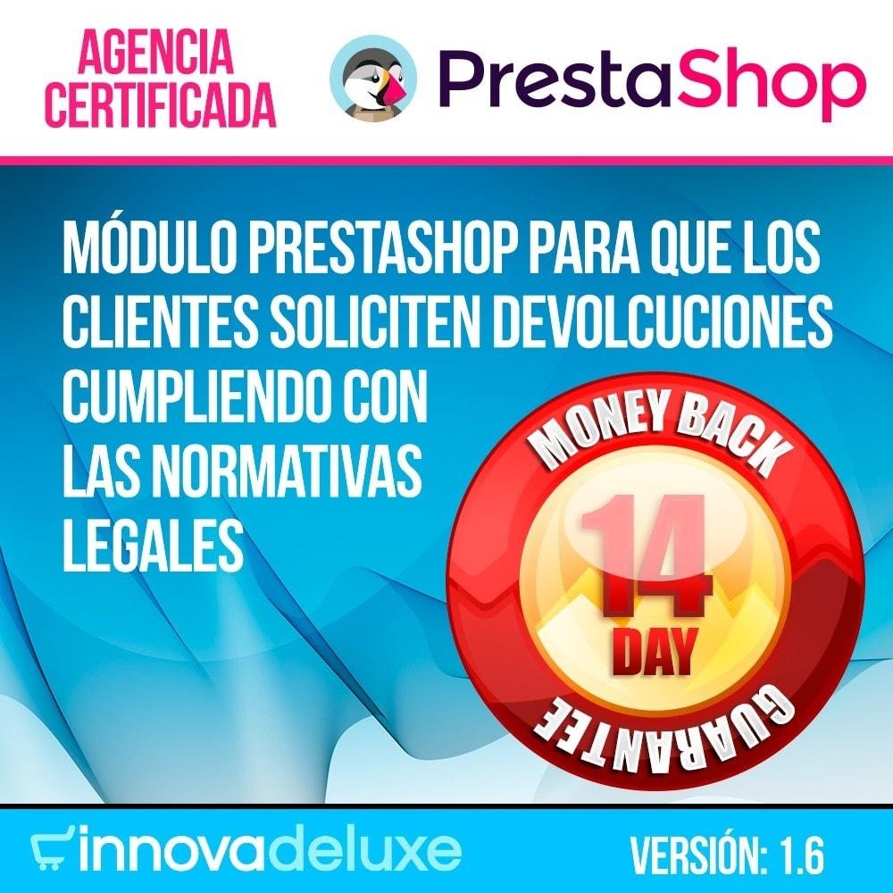 module - Marco Legal (Ley Europea) - Devolución de productos (Ley de defensa del consumidor) - 1
