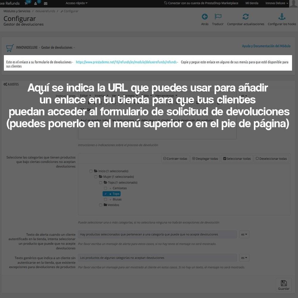 module - Marco Legal (Ley Europea) - Devolución de productos (Ley de defensa del consumidor) - 3