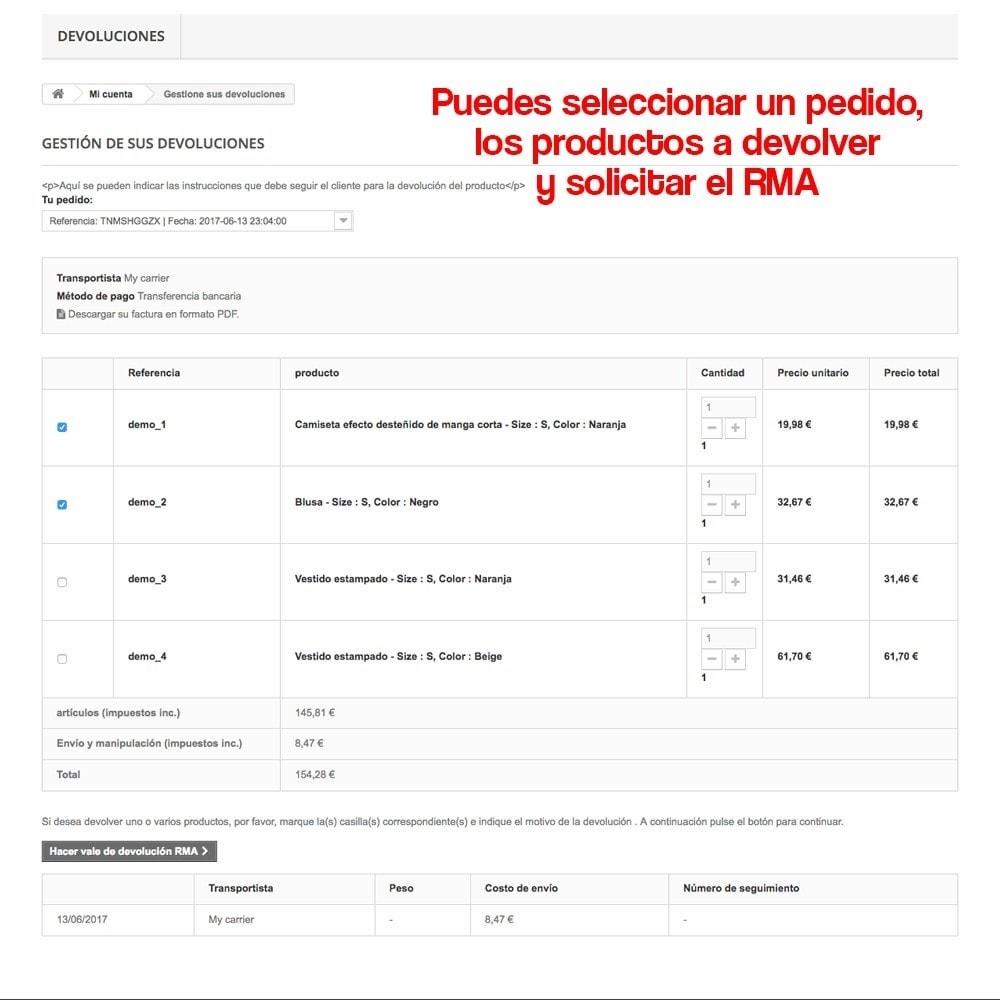 module - Marco Legal (Ley Europea) - Devolución de productos (Ley de defensa del consumidor) - 12