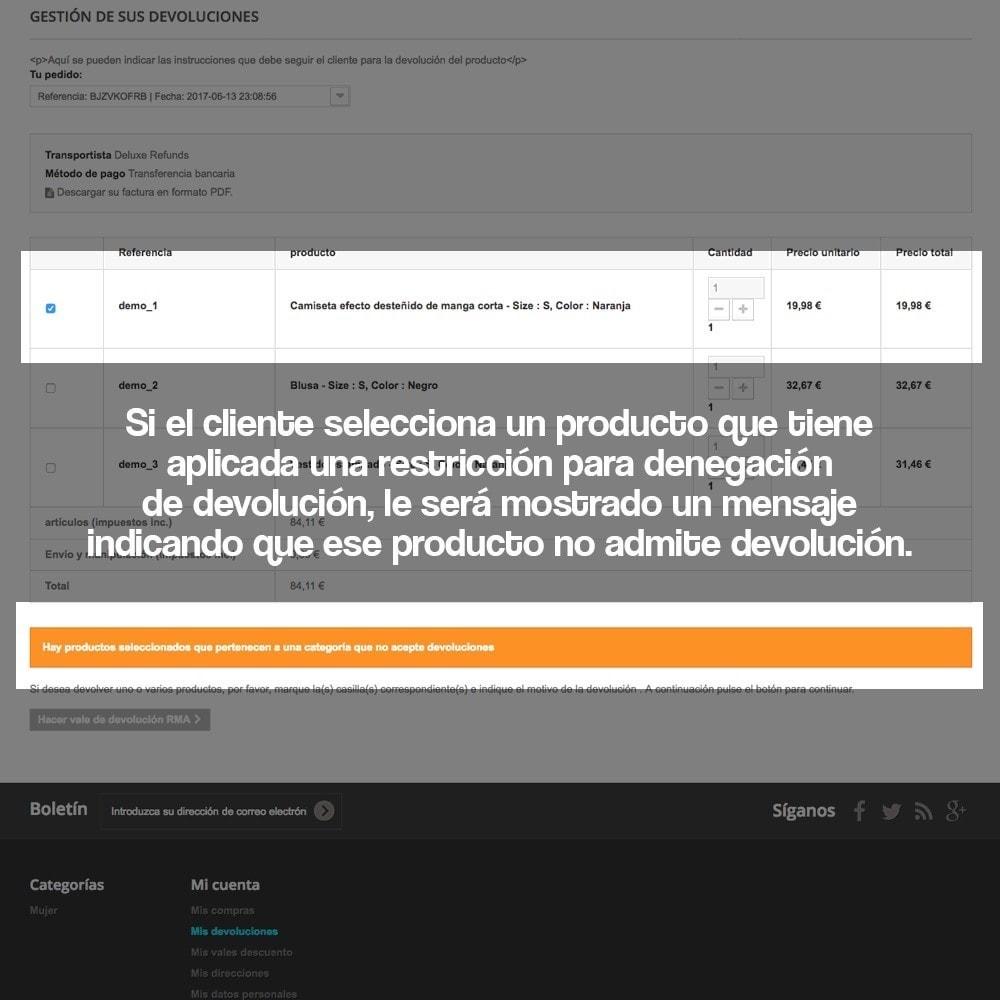 module - Marco Legal (Ley Europea) - Devolución de productos (Ley de defensa del consumidor) - 16