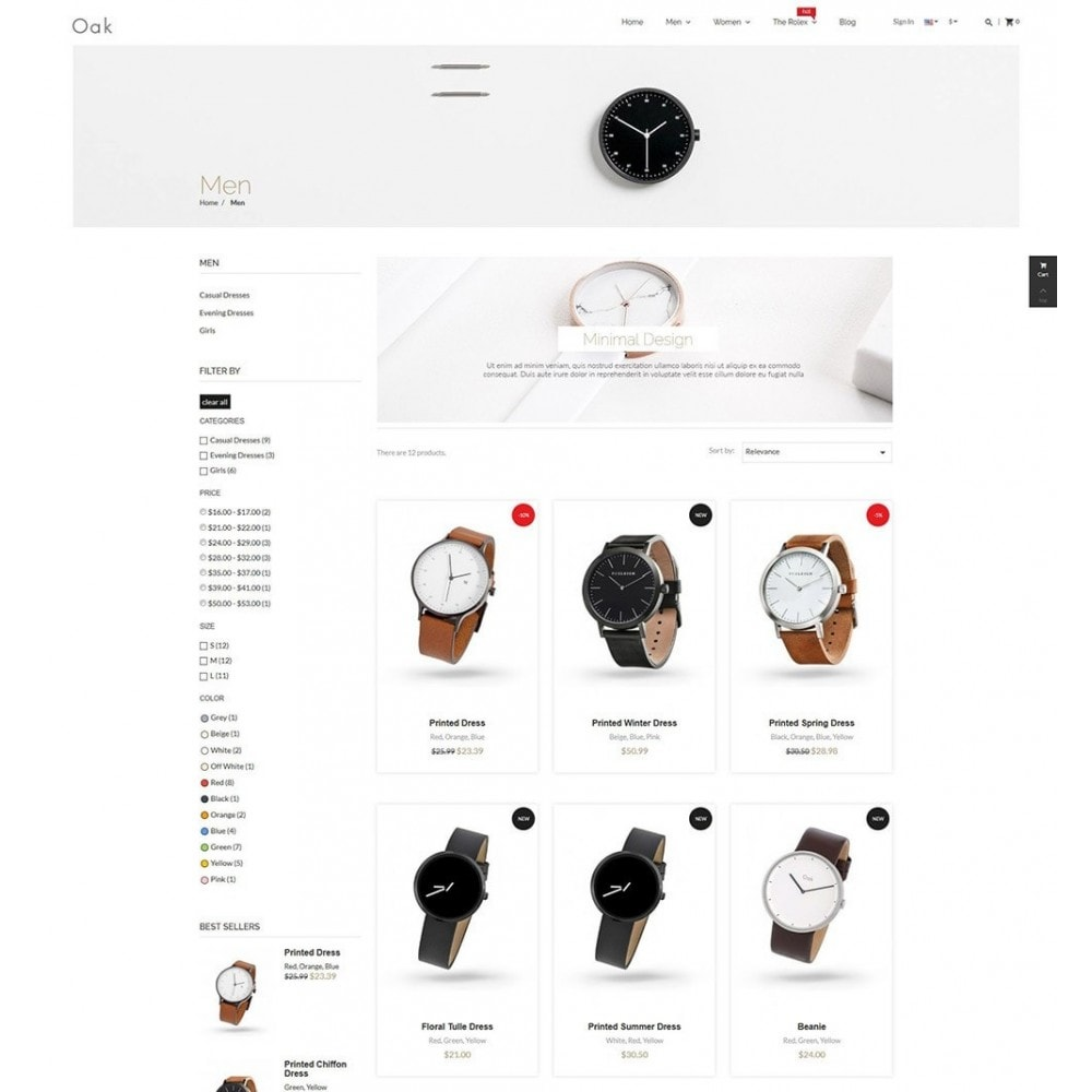 theme - Biżuteria & Akcesoria - Luxury Watches - 5