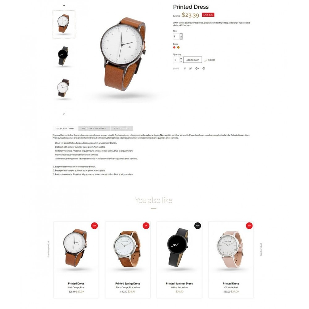 theme - Biżuteria & Akcesoria - Luxury Watches - 6