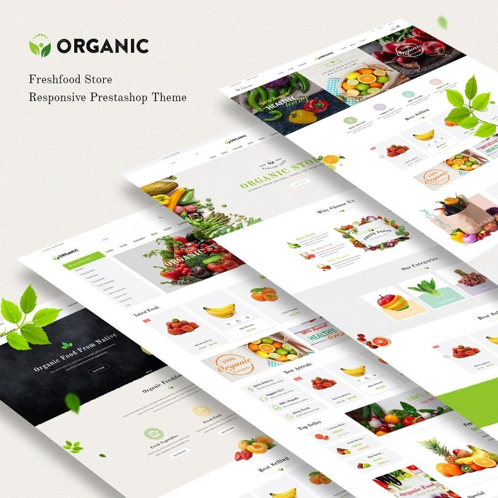 theme - Lebensmittel & Restaurants - JMS Organic - 1