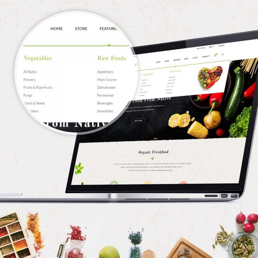 theme - Lebensmittel & Restaurants - JMS Organic - 3