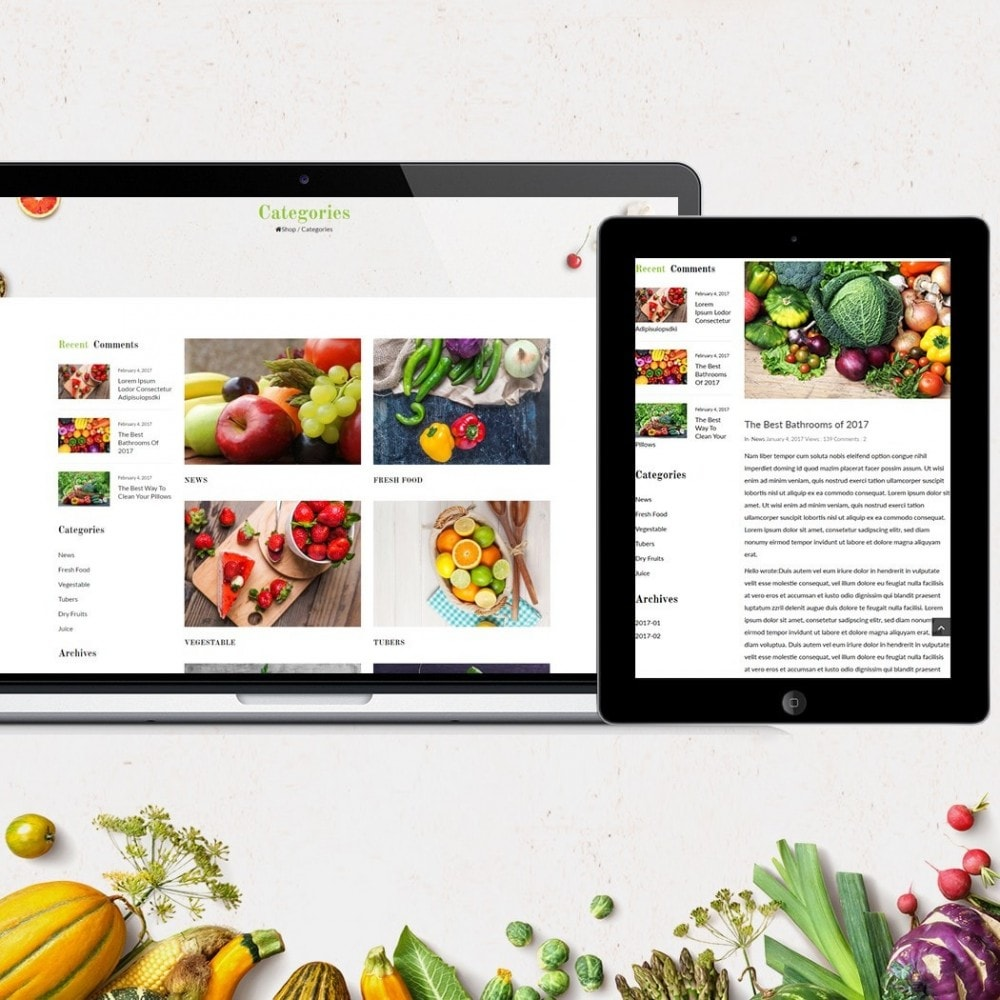 theme - Lebensmittel & Restaurants - JMS Organic - 5