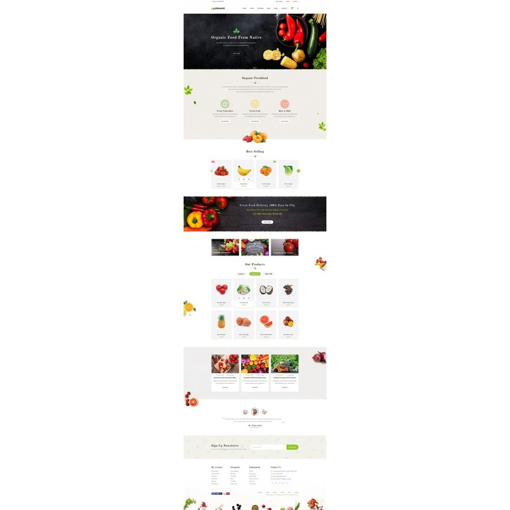 theme - Lebensmittel & Restaurants - JMS Organic - 6