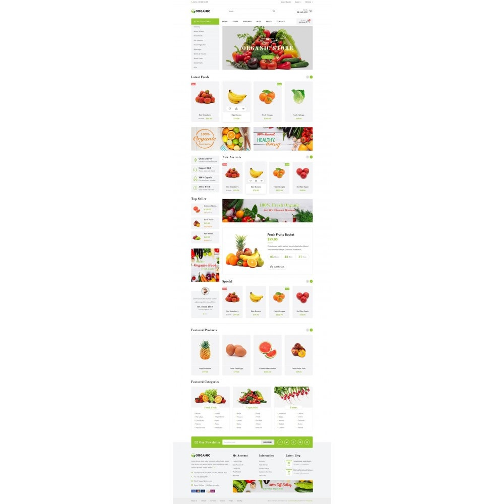 theme - Lebensmittel & Restaurants - JMS Organic - 7
