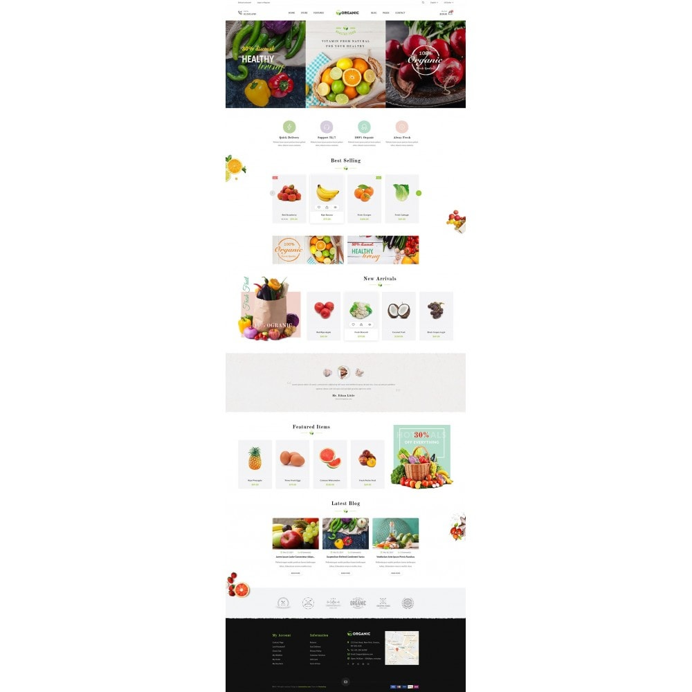 theme - Lebensmittel & Restaurants - JMS Organic - 9