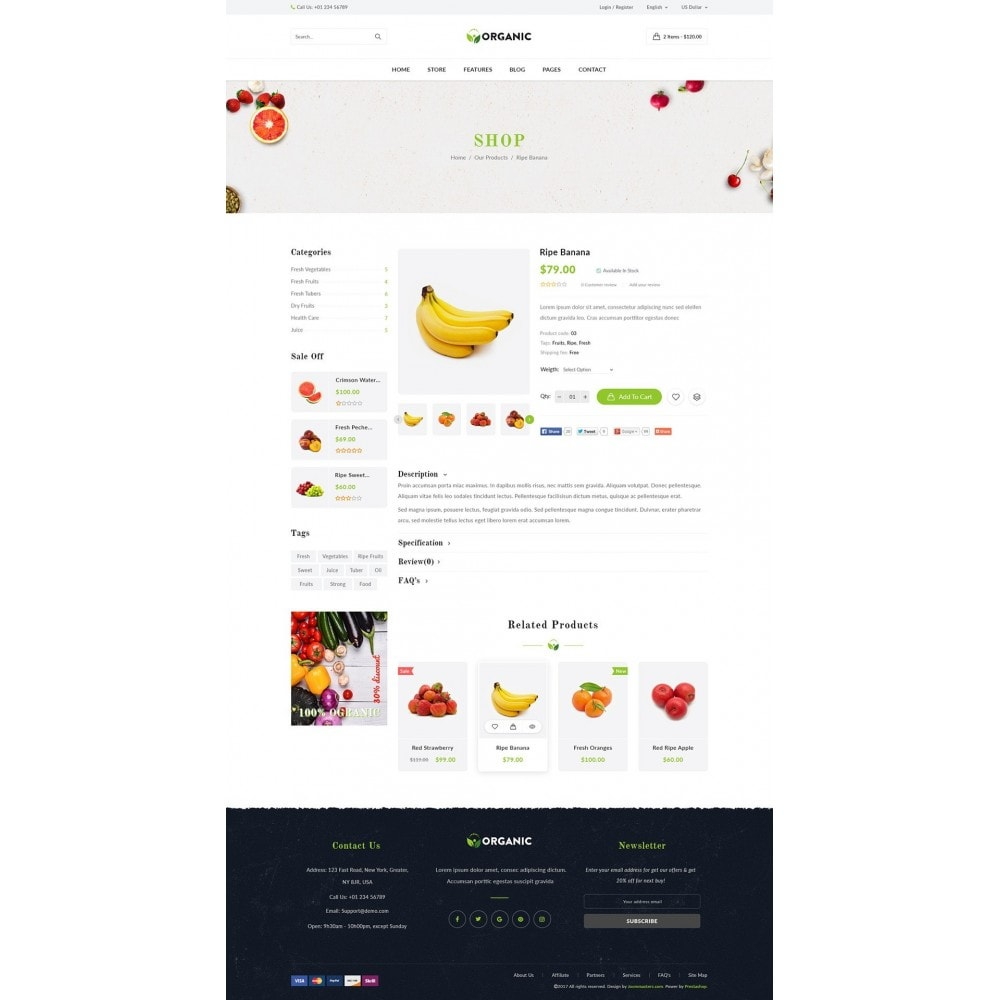 theme - Lebensmittel & Restaurants - JMS Organic - 11