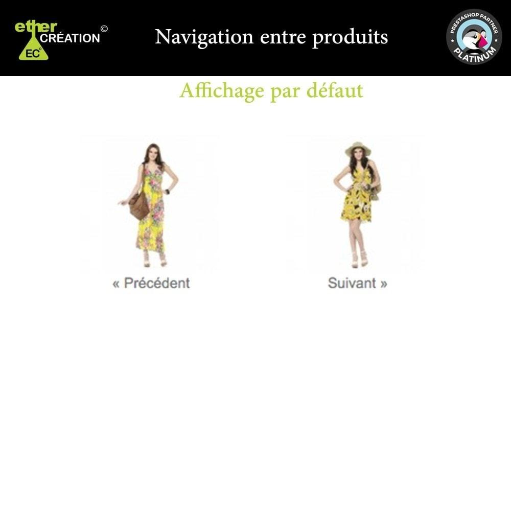 module - Outils de navigation - Produit Suivant/Précédent sur page produit - 3