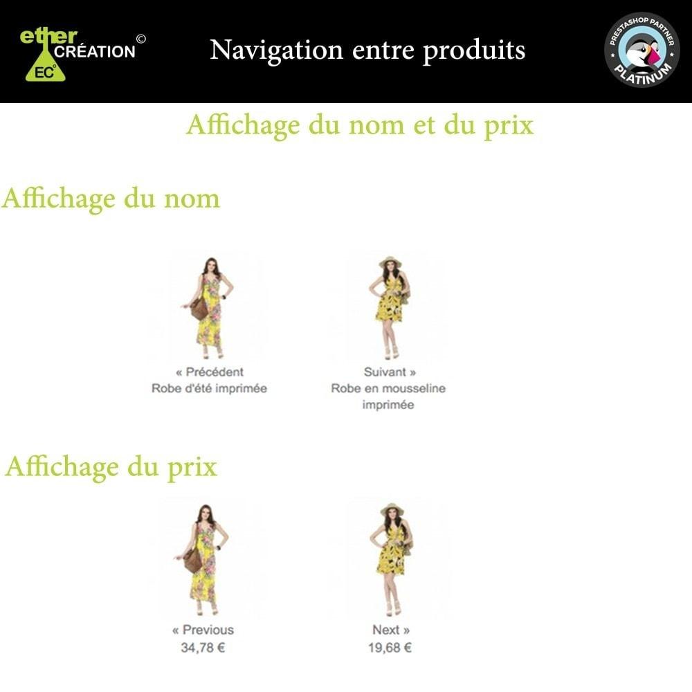 module - Outils de navigation - Produit Suivant/Précédent sur page produit - 4