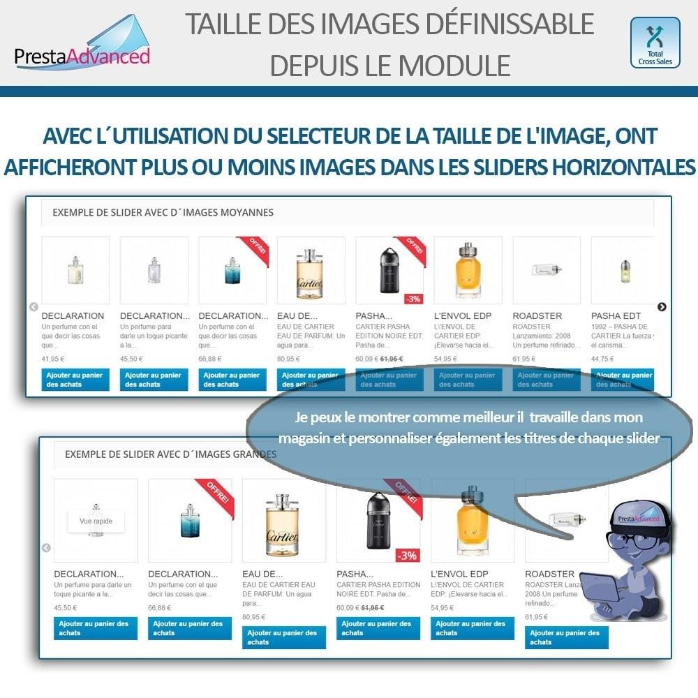 module - Ventes croisées & Packs de produits - Total Cross Sales - Configuration des ventes croisées - 7