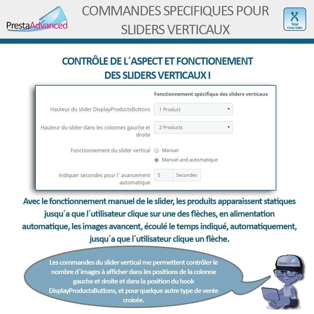 module - Ventes croisées & Packs de produits - Total Cross Sales - Configuration des ventes croisées - 8