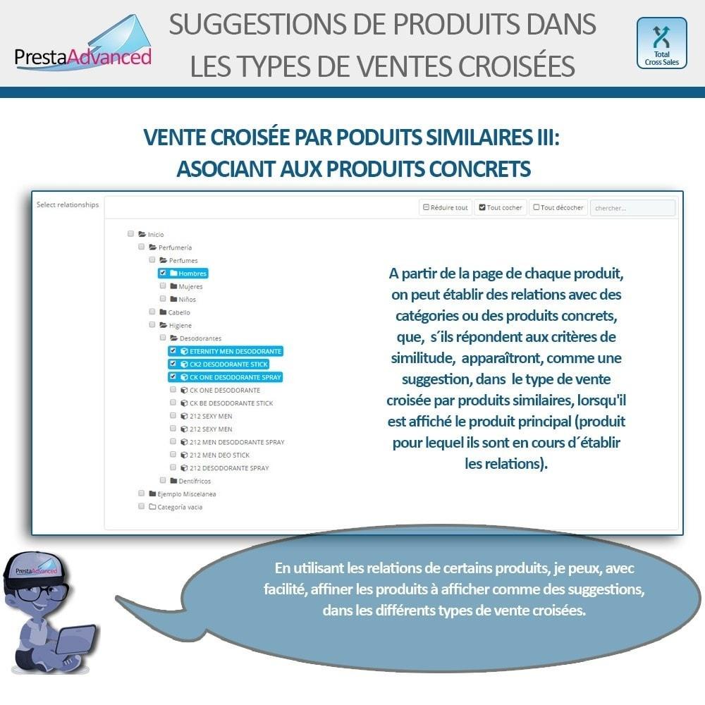 module - Ventes croisées & Packs de produits - Total Cross Sales - Configuration des ventes croisées - 16