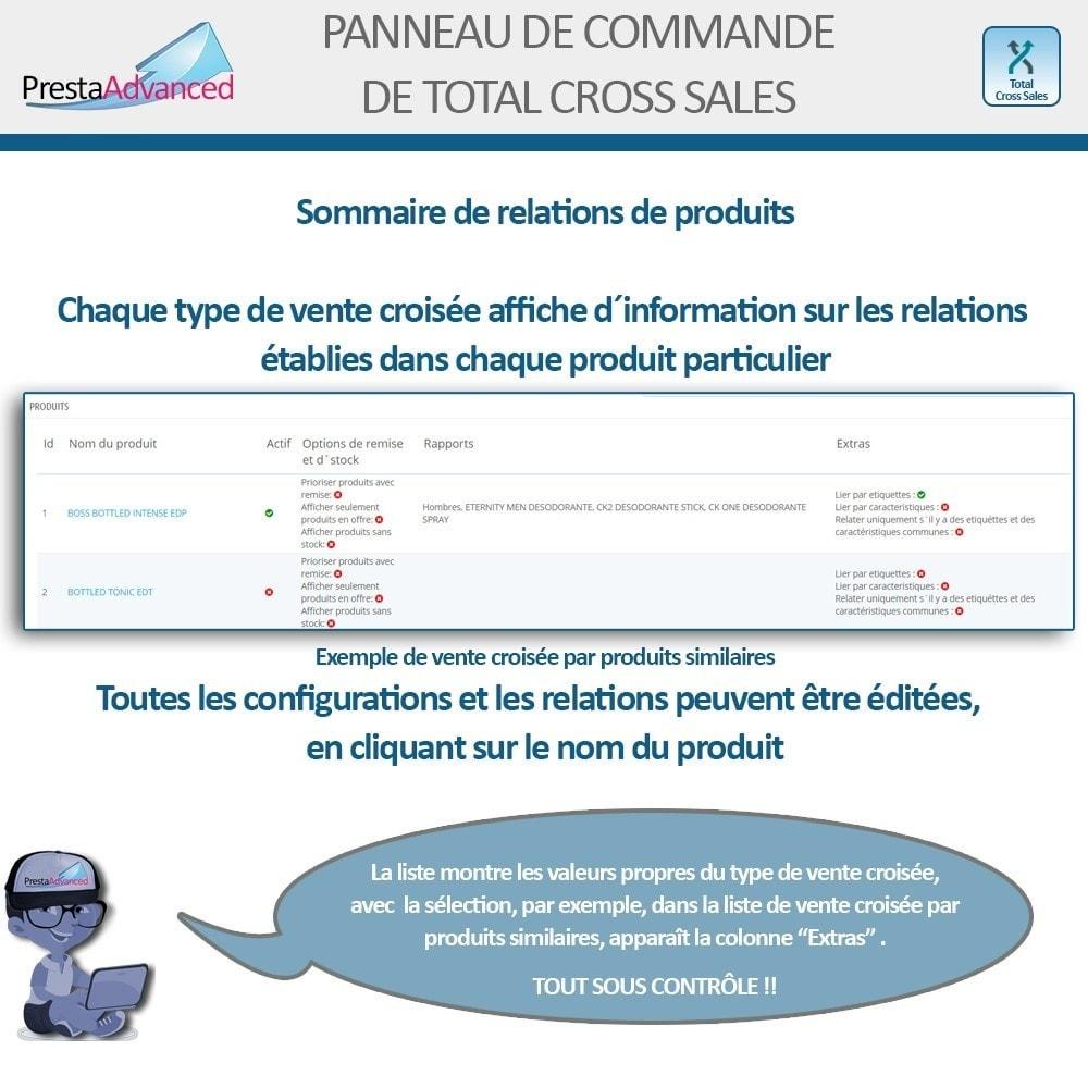 module - Ventes croisées & Packs de produits - Total Cross Sales - Configuration des ventes croisées - 31