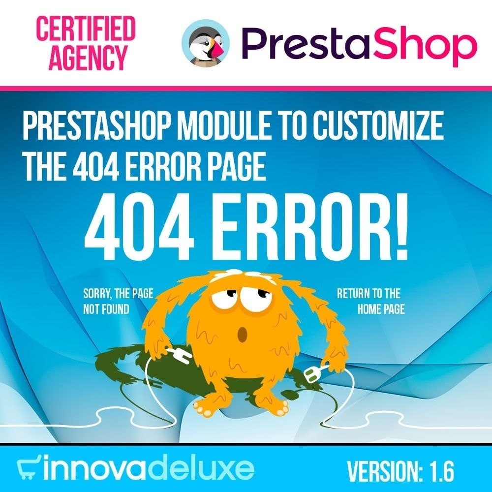 module - URL & Przekierowania - Customization of the 404 error page - 1