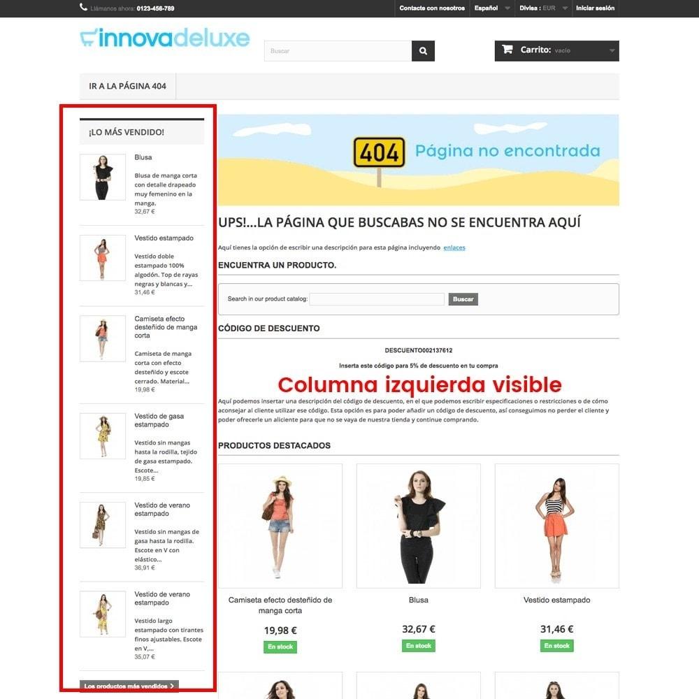 module - URL y Redirecciones - Personalización de la página de error 404 - 12