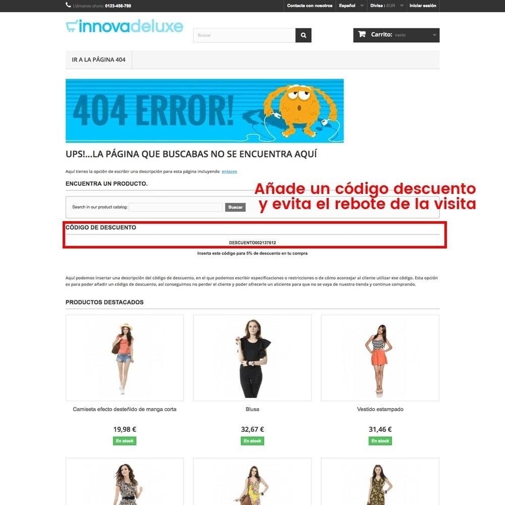 module - URL y Redirecciones - Personalización de la página de error 404 - 21