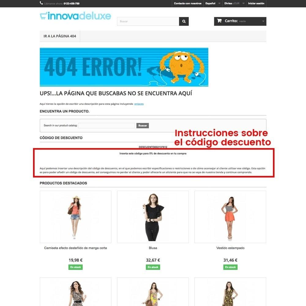 module - URL y Redirecciones - Personalización de la página de error 404 - 23