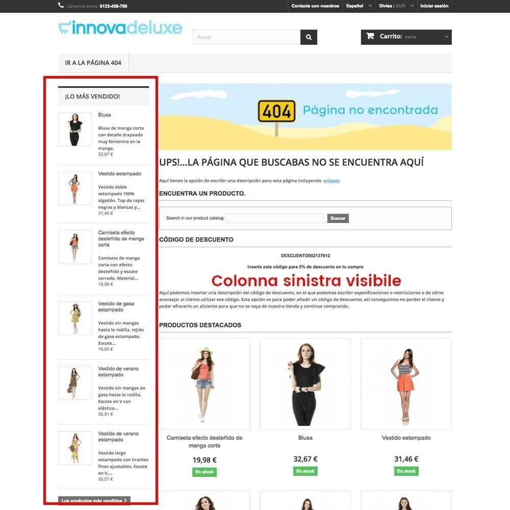 module - URL & Redirect - Personalizzare la pagina di errore 404 - 12