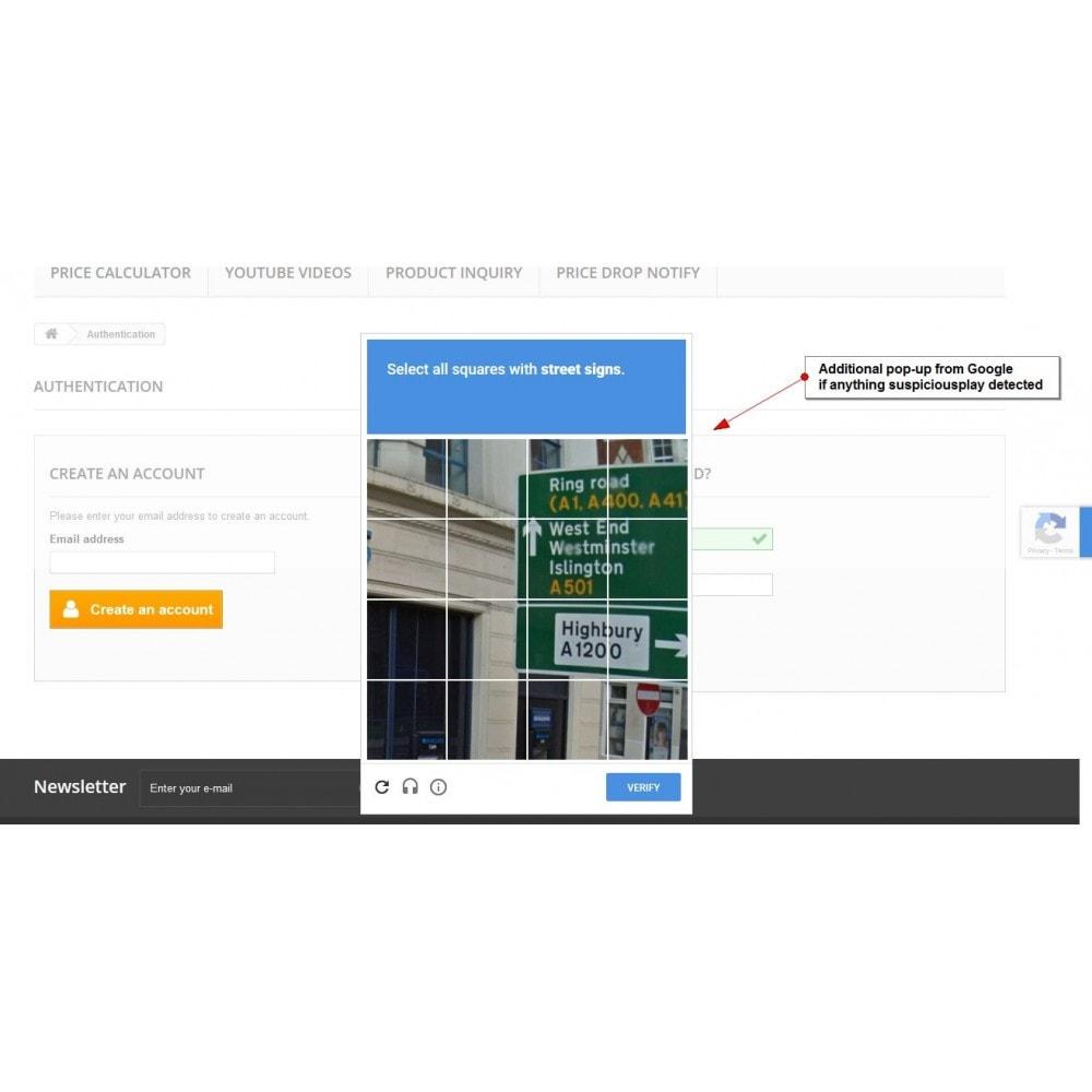 module - Безопасности и доступа - Recaptcha Anywhere - 6