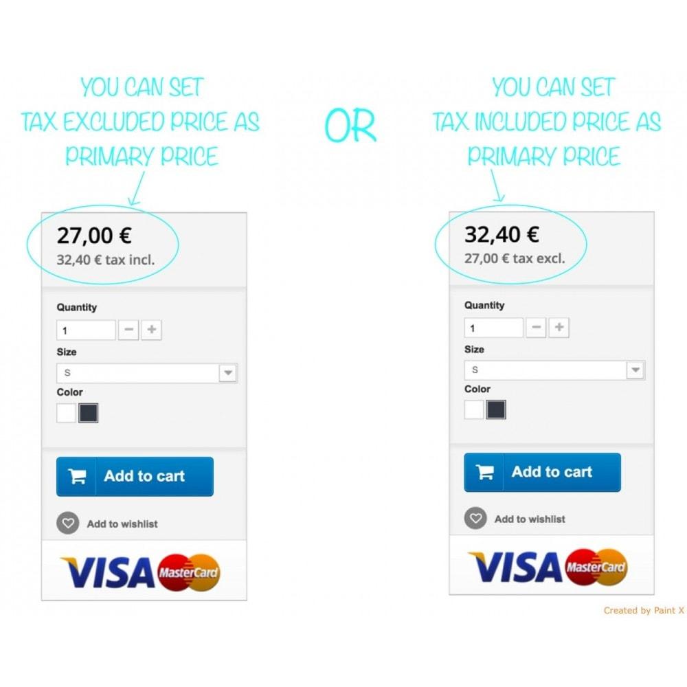 module - Preisverwaltung - B2B duale Abbildung der Preise mit MwSt. und ohne MwSt. - 7