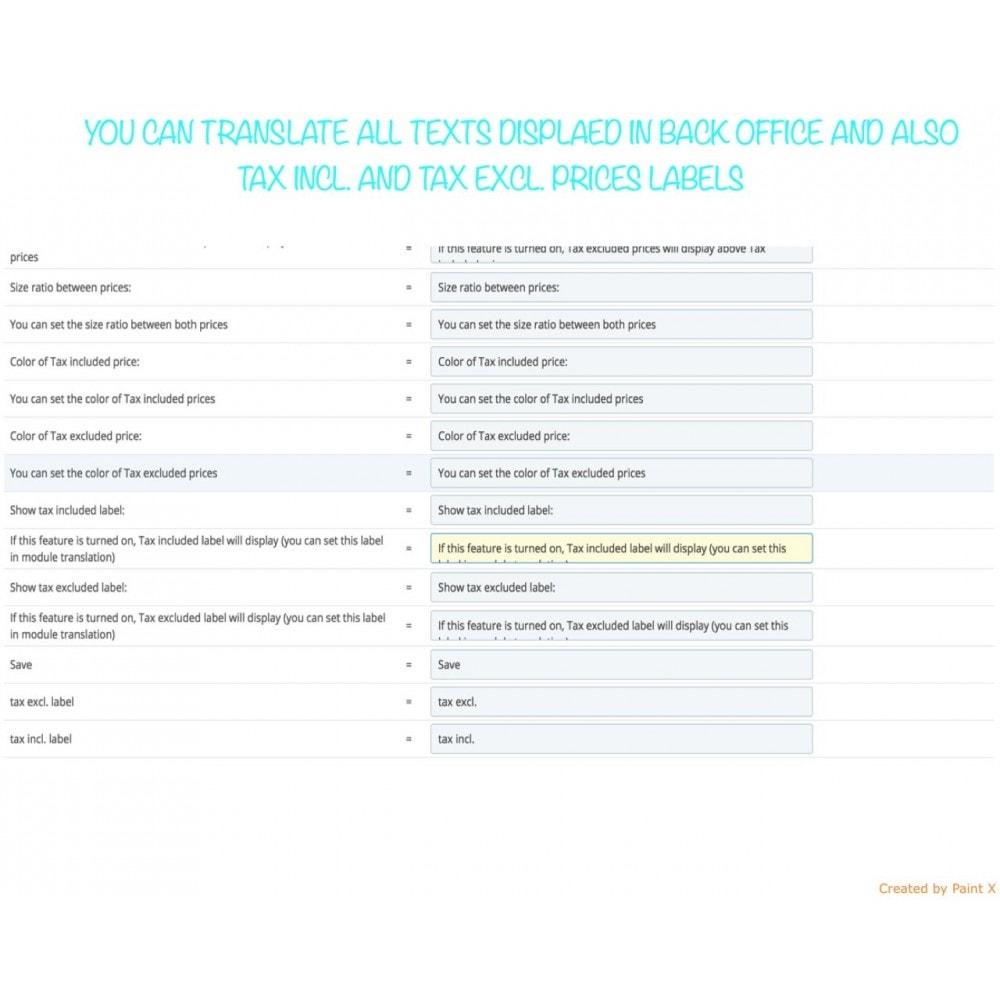 module - Preisverwaltung - B2B duale Abbildung der Preise mit MwSt. und ohne MwSt. - 10