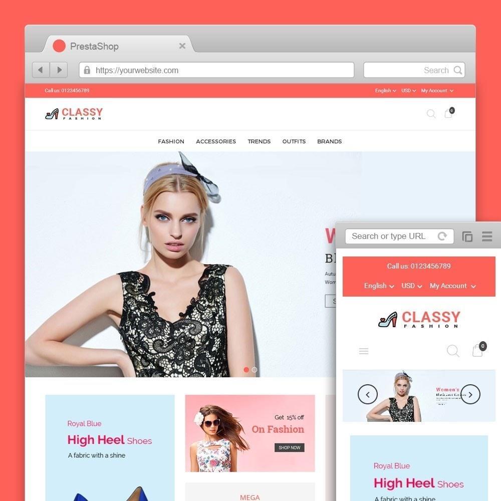 theme - Moda & Obuwie - Classy Fashion Store - 1