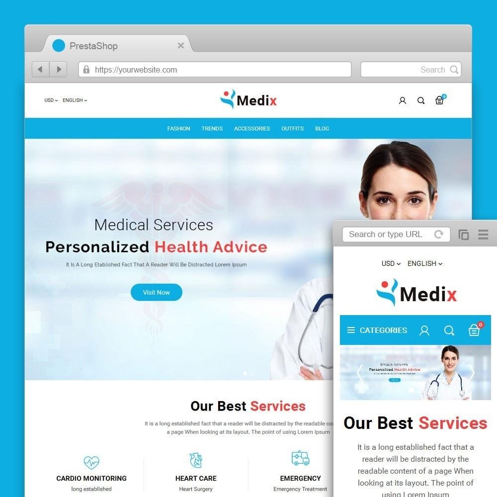 theme - Salud y Belleza - Medix Medical Store - 1