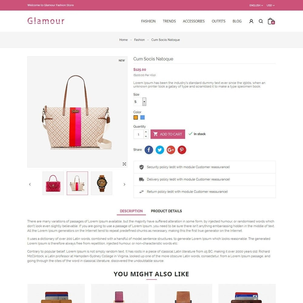 theme - Mode & Chaussures - Glamour Fashion Store - 5