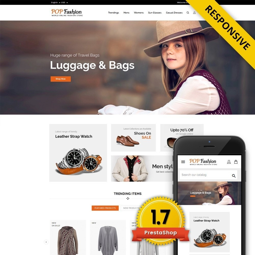 theme - Mode & Schuhe - Popfashion - Fashion Store - 1